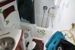 Das feudale Badezimmer mit Sitzbadewanne